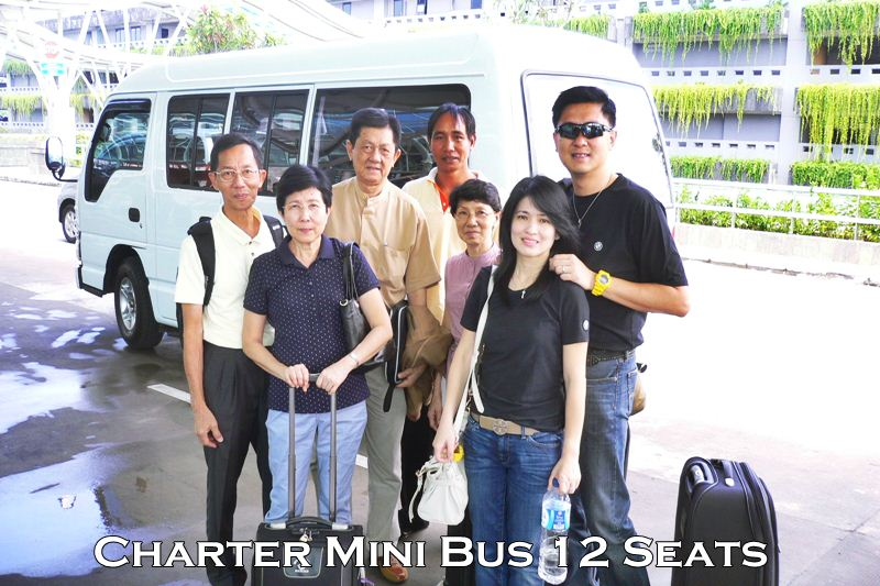Charter Mini bus 12 seats Bali