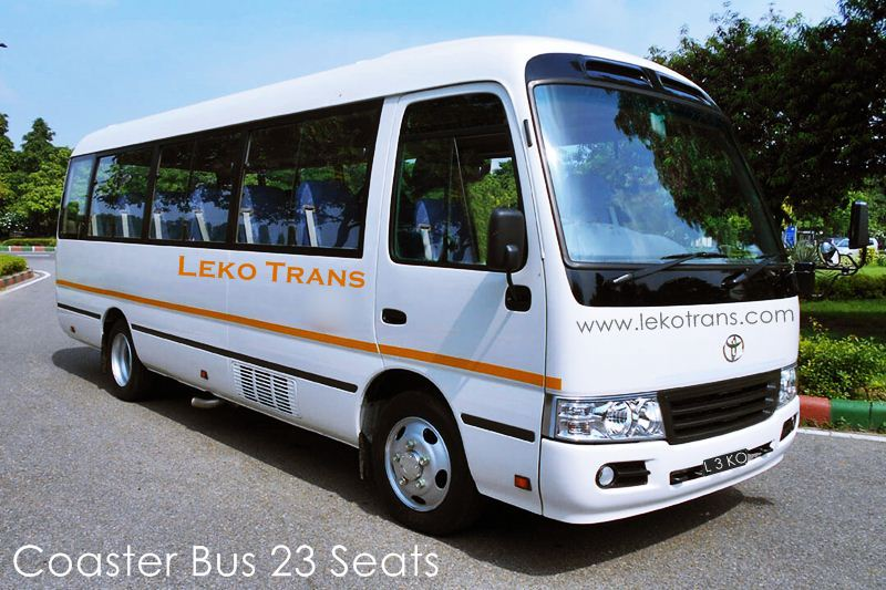 Coaster Bus 23 seats Rental Bali