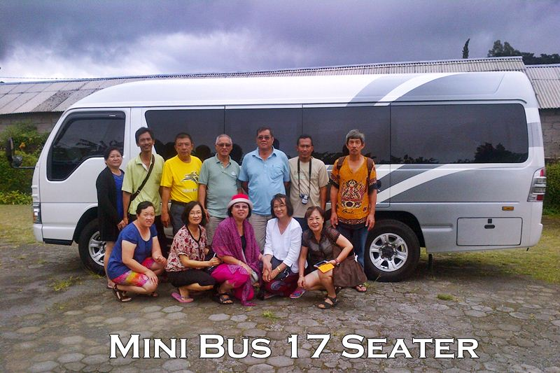 Isuzu ELF Mini Bus 17 Seats Hire Bali