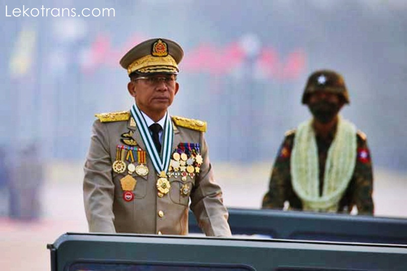 Myanmar's military chief, Senior Gen will attend an ASEAN summit on April 24,