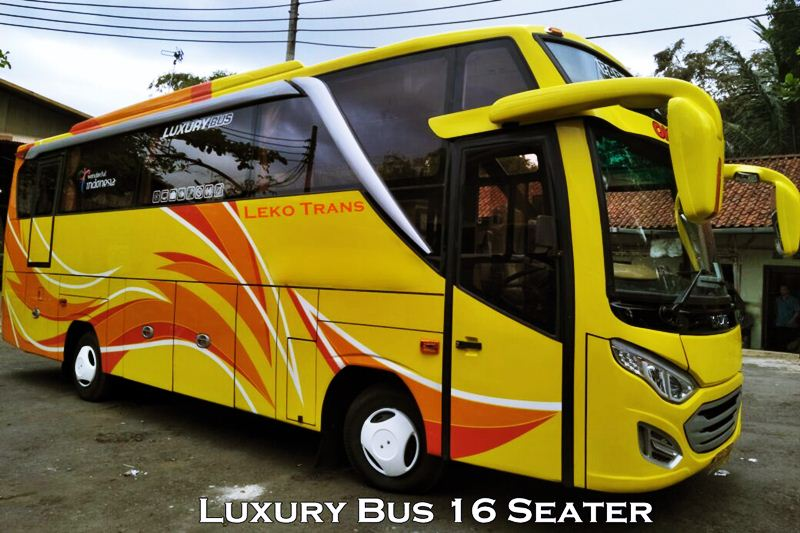 Luxury Bus 16 Seats Charter Bali