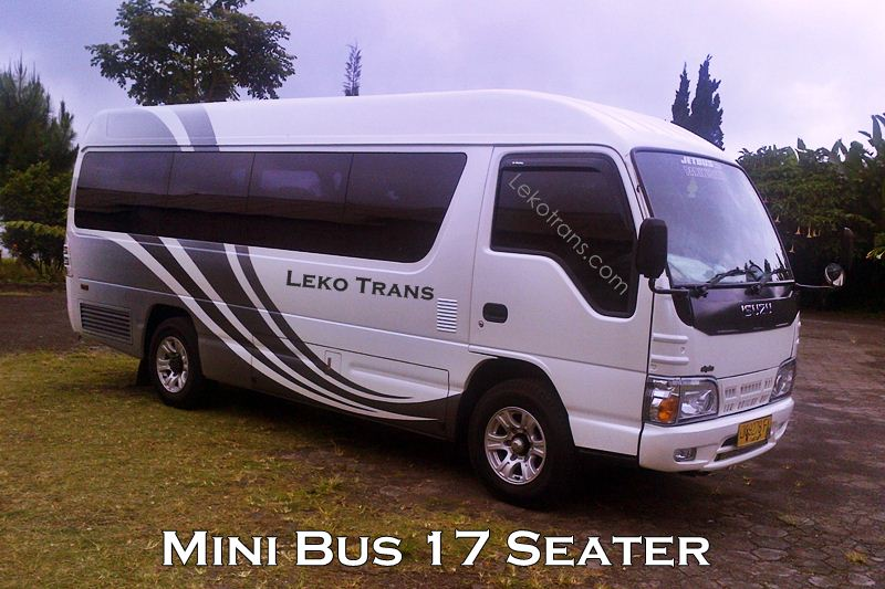 Mini Bus Isuzu ELF 17 Seats Hire Bali