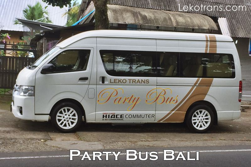 Party Bus Hire in Bali Indonesia