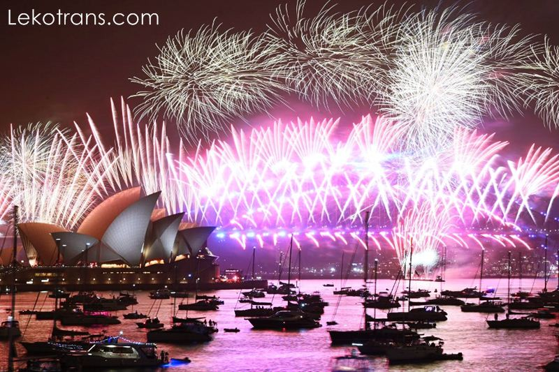 Happy New Sydney Harbour on Covid-19