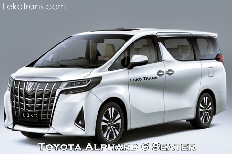 Rental Toyota Alphard Cheap in Bali