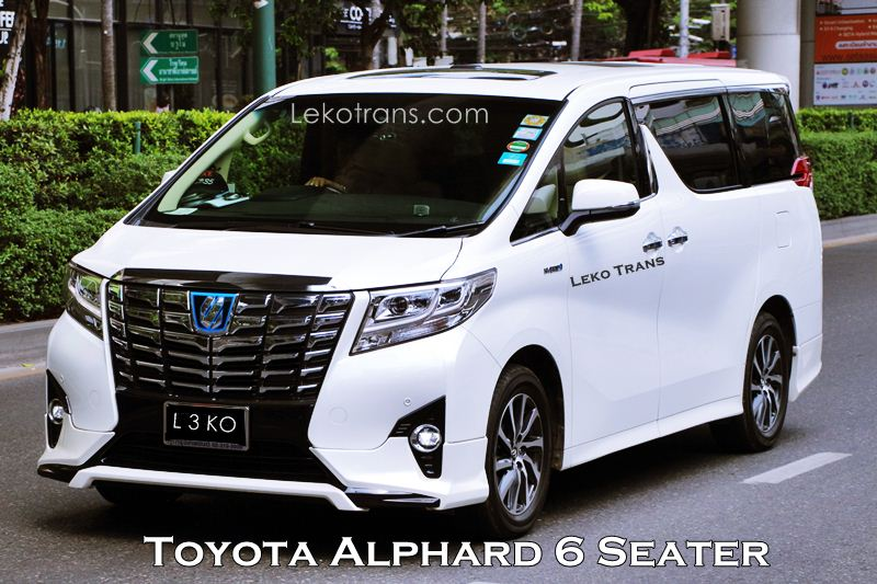 Charter and Rental New Toyota Alphard Bali
